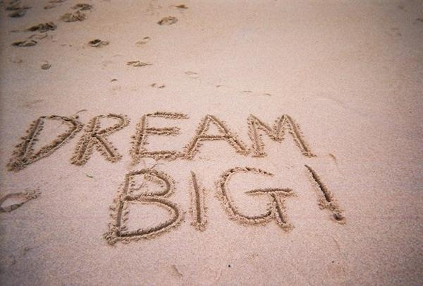 images of dreaming big essay