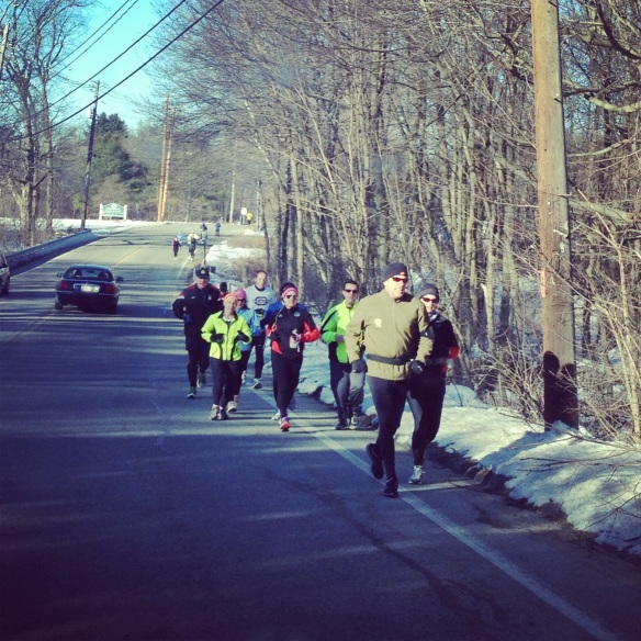 Runners in Ashland